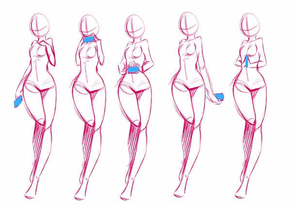 Anime Body Templates For Drawing at GetDrawings.com | Free for ...