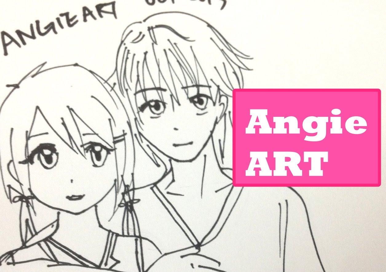 1256x885 How To Draw Manga Couple