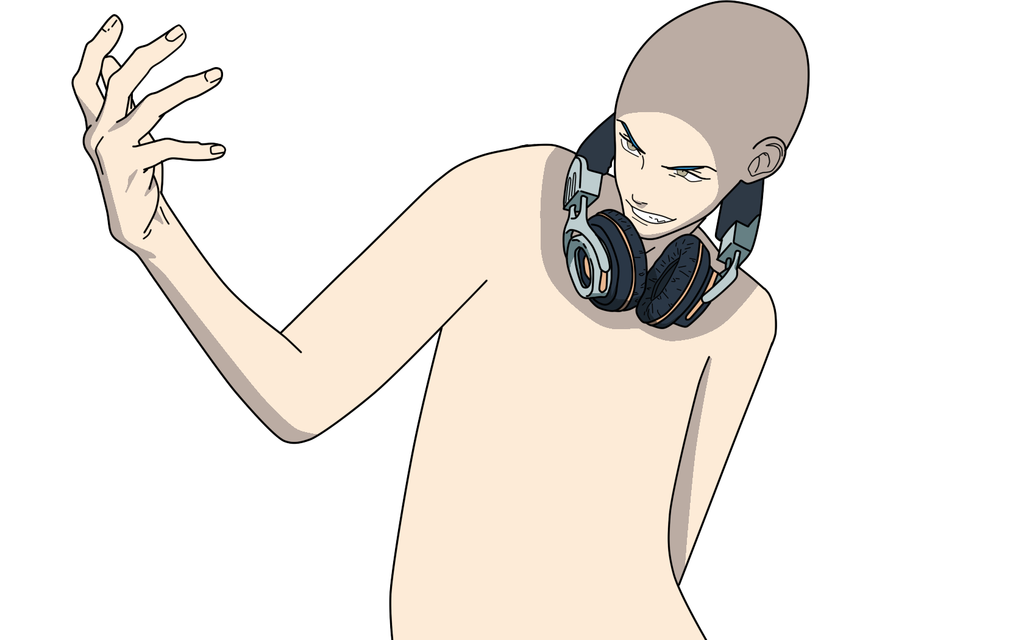 1024x640 Male with headphones base by Basemakerofdarkness on DeviantArt