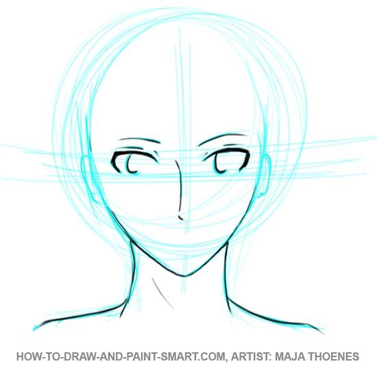 550x534 to Draw Anime Boys