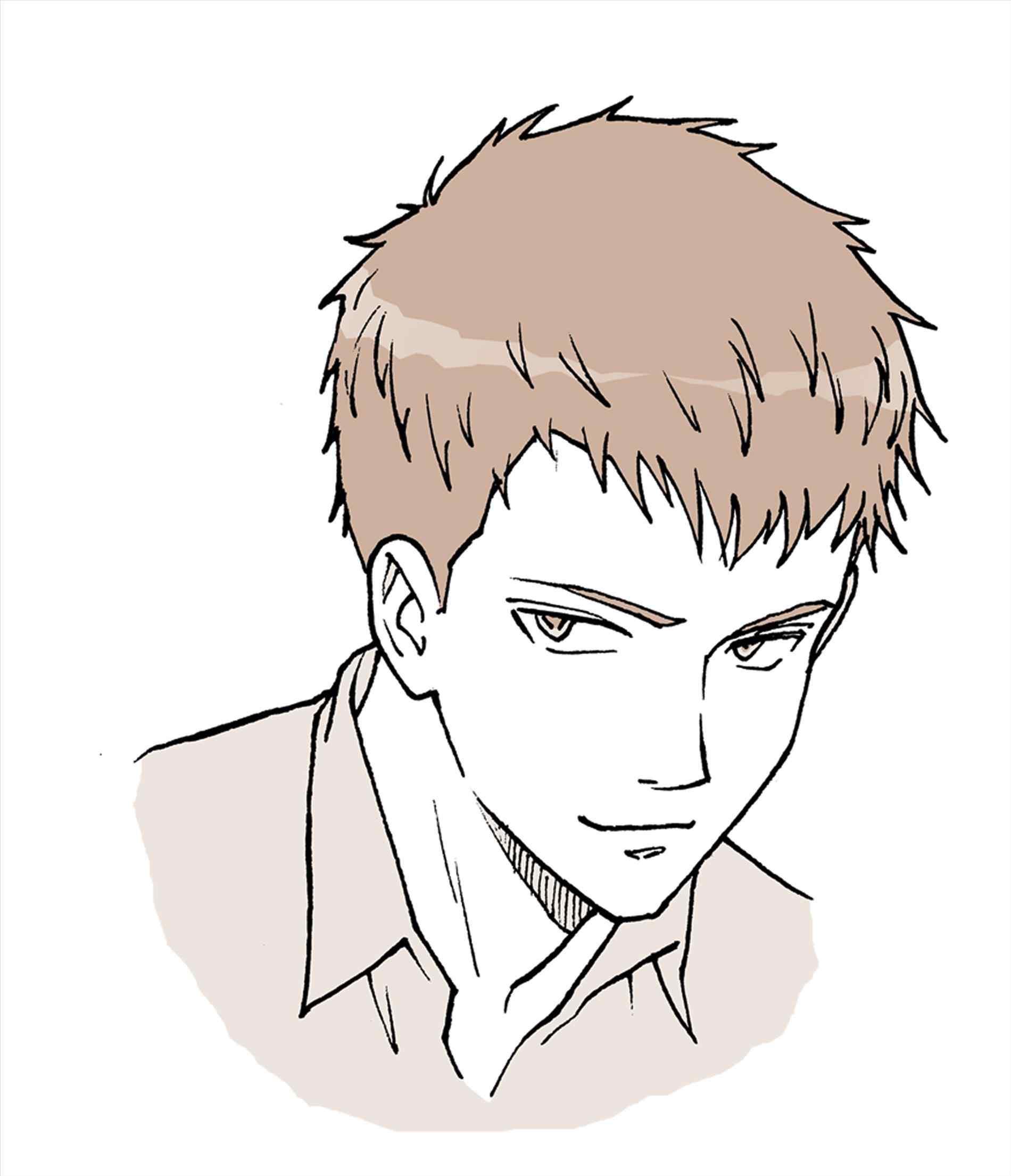 1900x2209 Anime Boy Hairstyles Drawings