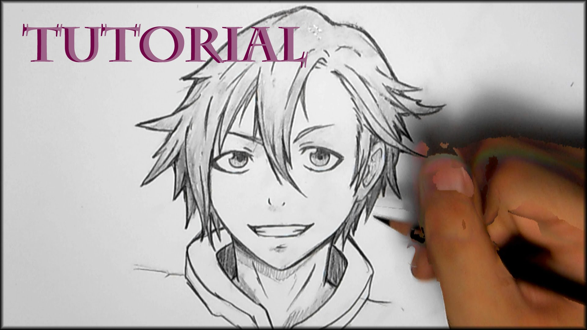 Anime Boy Hair Drawing At Getdrawingscom Free For Personal Use