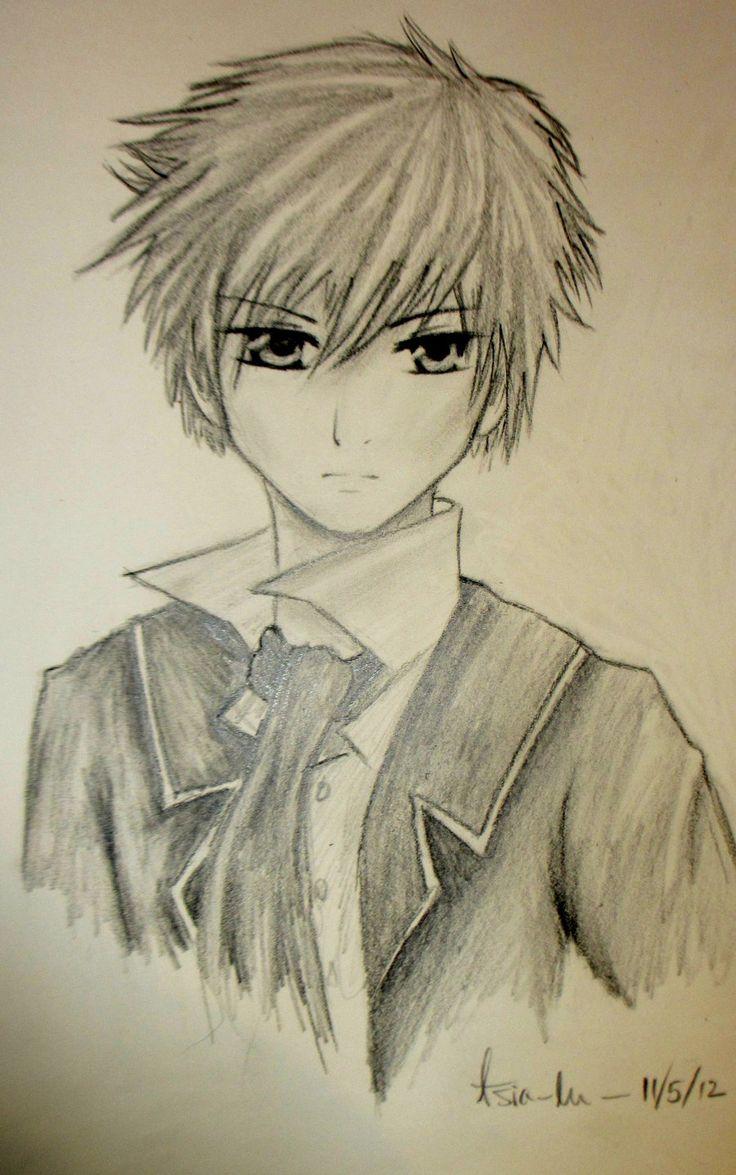 736x1175 Cute Anime Boy Drawings Best Cute Boys Sketches Anime Boy Drawing