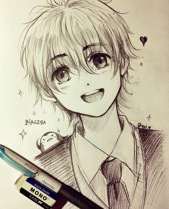 564x696 Gallery Anime Boys Pencil Draw,