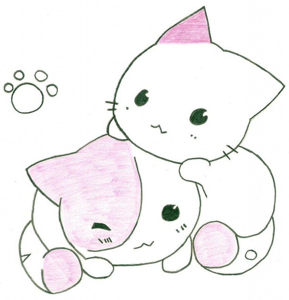 985x1024 Animated Cute Animal Couple Sketches Cute Animated Drawings Cute