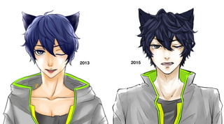 320x178 Another Drawthisagain Thingie I Feel So Weeb When I Draw Cat