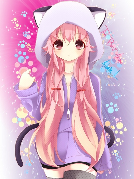 537x720 anime cat girl