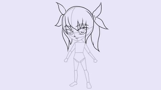 550x309 How To Draw A Chibi Character (With Pictures)
