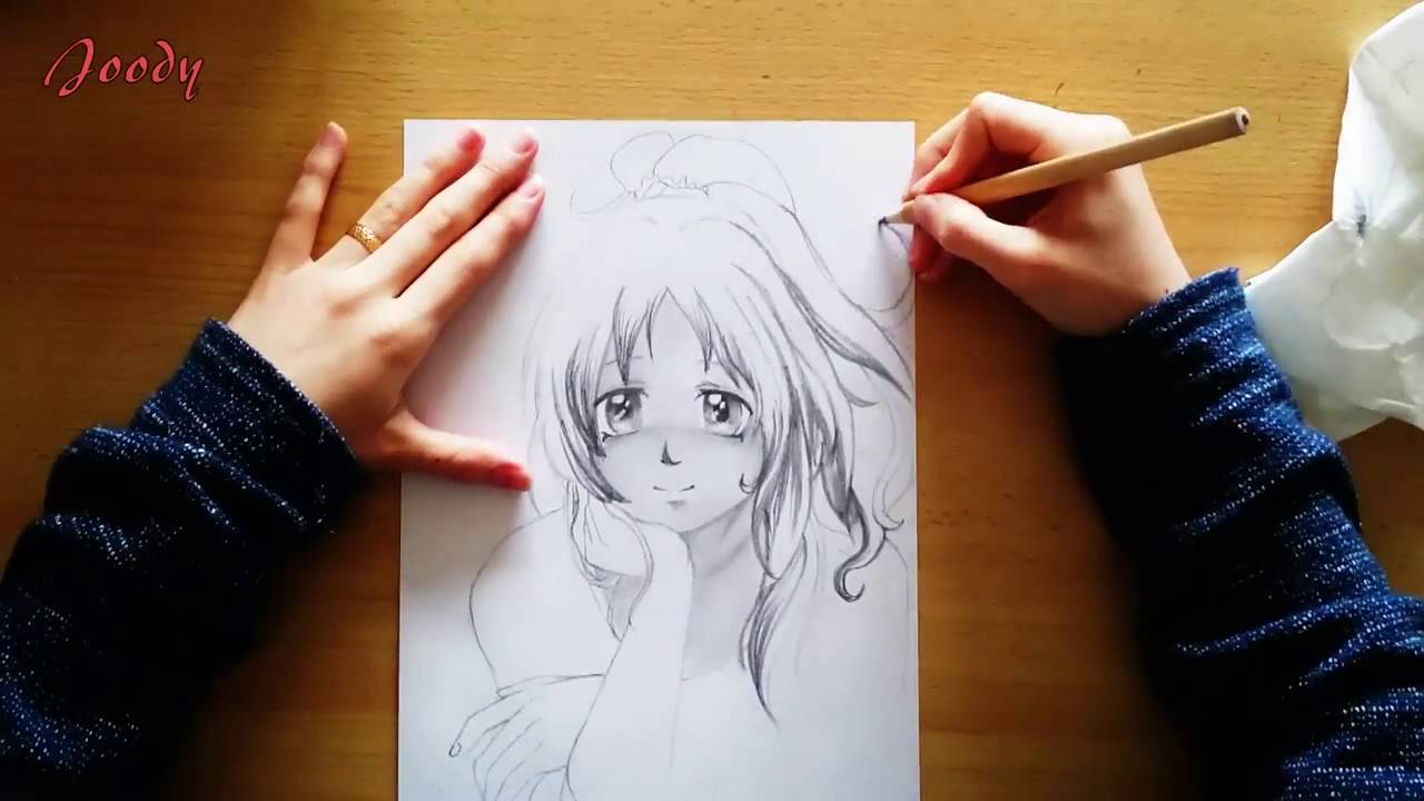 1280x720 How To Draw A Female Anime Character