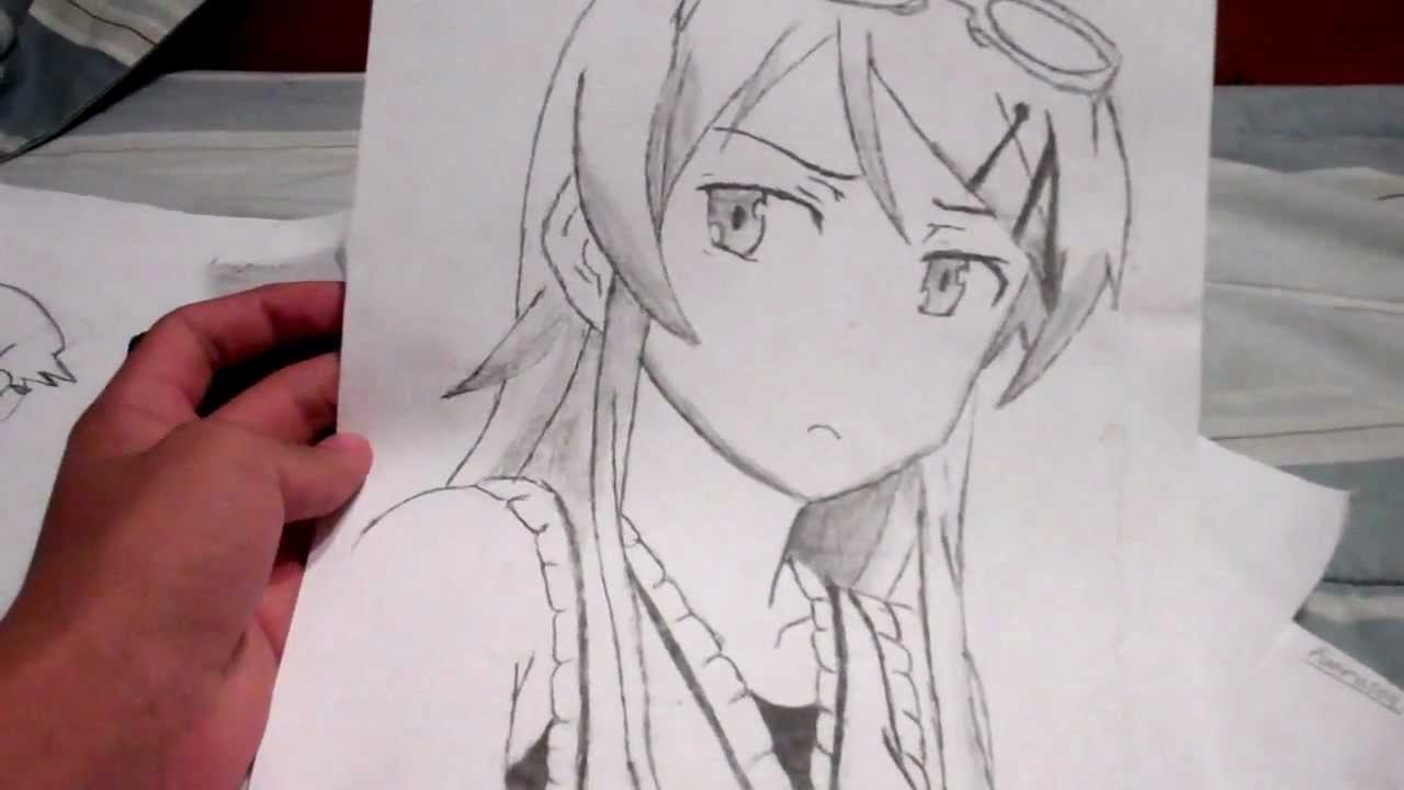 1280x720 My Manga , Anime Character Faces Drawing You Pick Tutorial