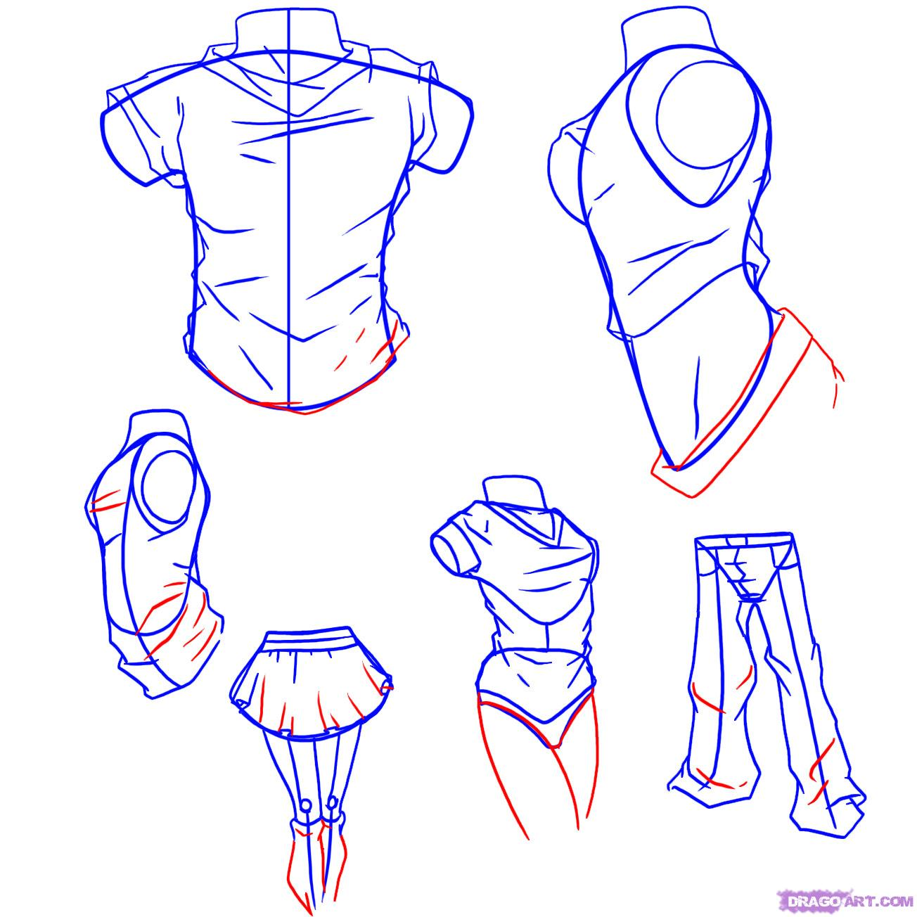 Drawing Anime Boy Clothes Ideas