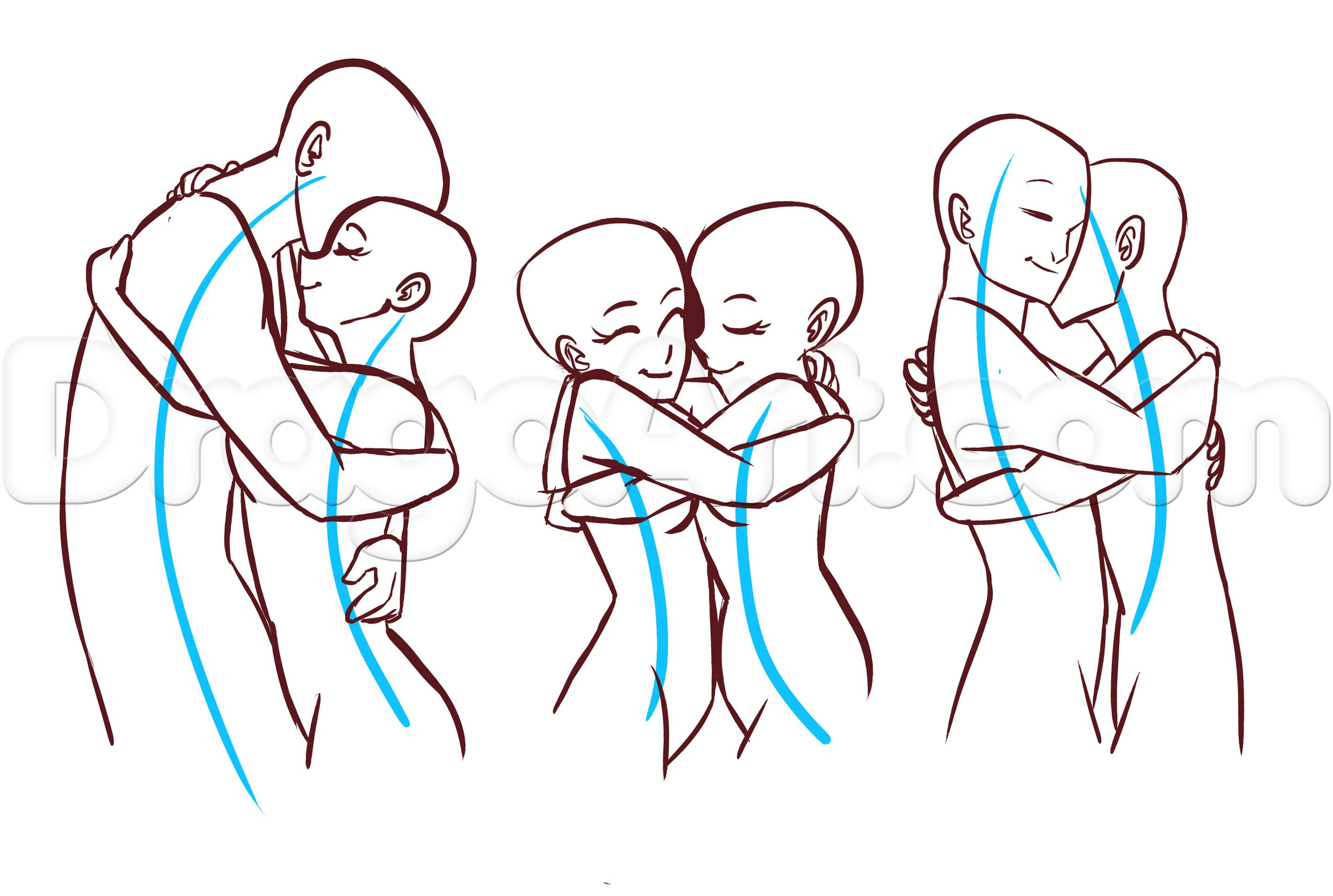 2844x1912 How To Draw A Couple Hugging Learn How To Draw Anime Couples