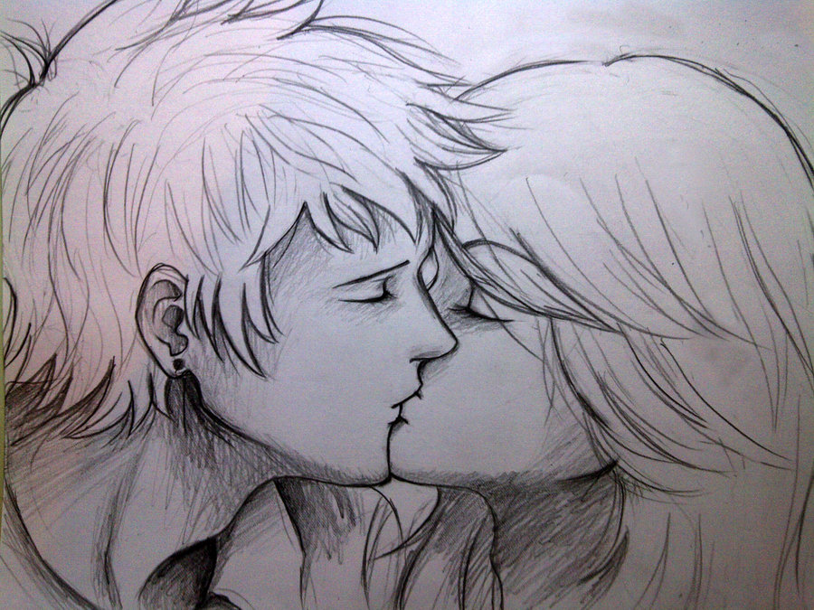 900x675 Pics For Gt Drawings Of Couples Kissing Tumblr Love