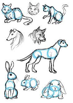 40 Fáceis Ideias De Desenhos De Esboços De Animais Eu Geek