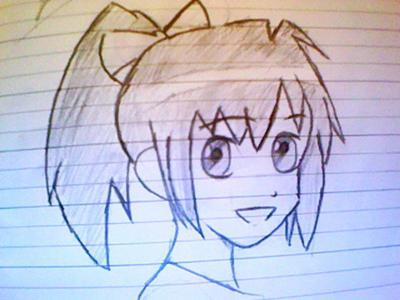 400x300 2nd Anime Girl