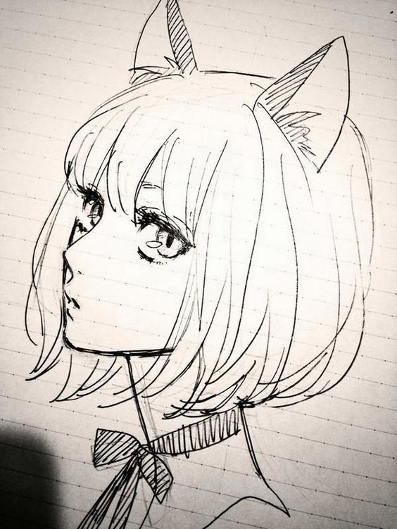 564x752 Girls So Cute Manga Dibujo Catwoman Anime The O Jays Art Drawings