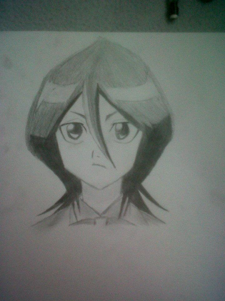 720x960 bleach anime rukia pencil drawing by lucyvalentine24 on deviantart