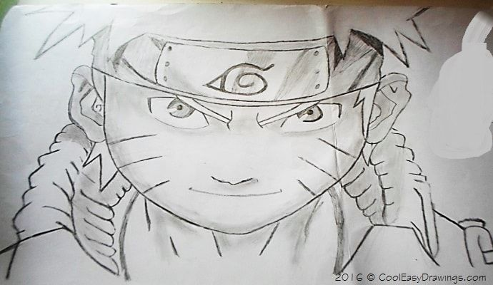 690x400 Looking For Naruto Drawing In Pencil Sketches Here's The First