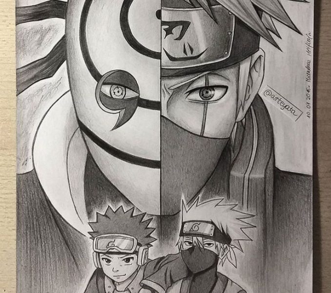 678x600 naruto drawing pictures how to draw naruto uzumaki step step