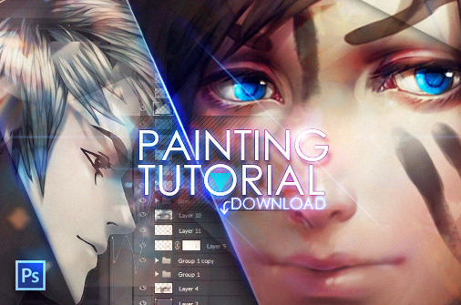 506x335 Painting Anime Hair Download  By Valentina Remenar