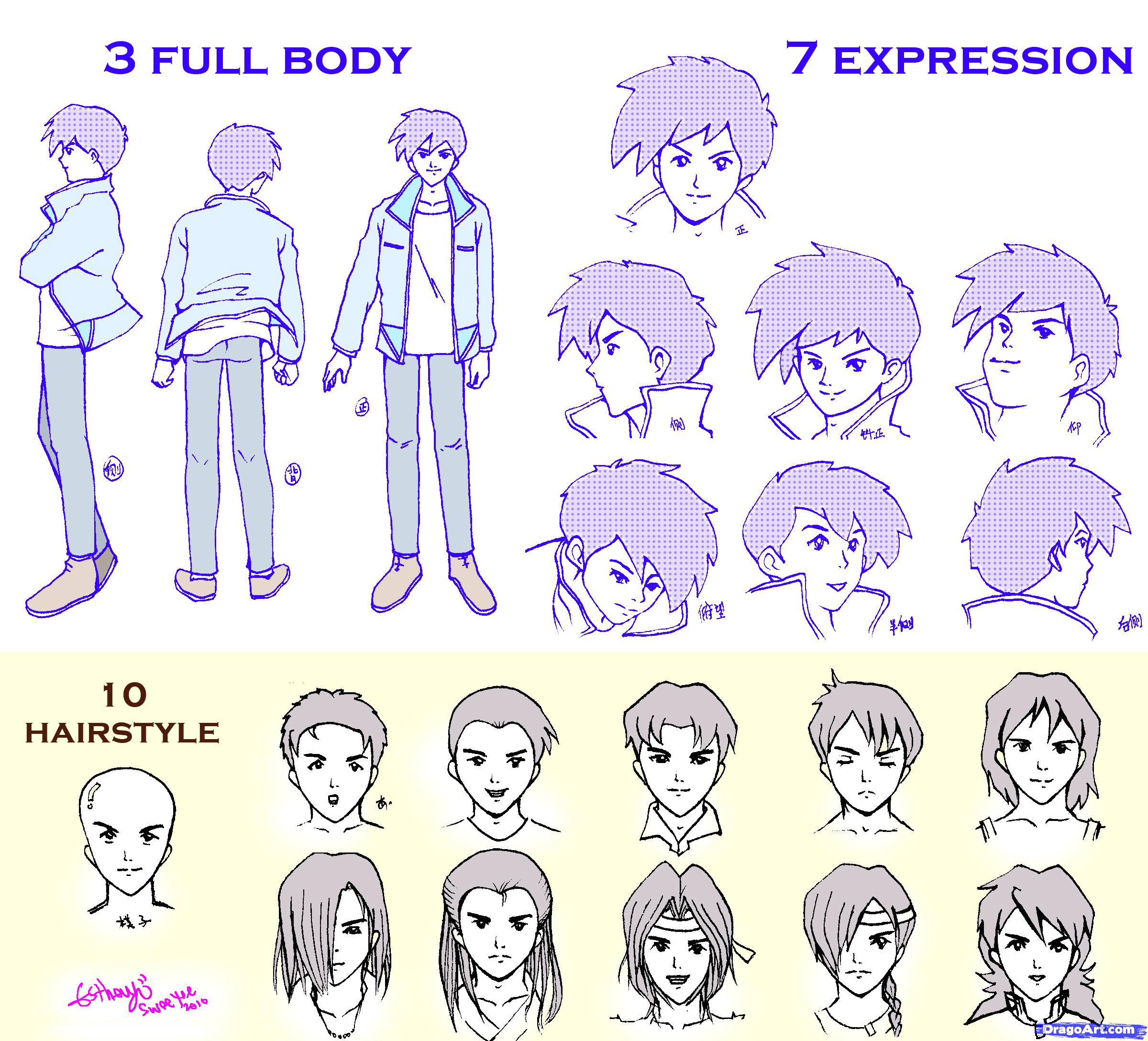 2400x2176 Anime Boy Drawing Tutorial Learn How To Draw Guys, Anime