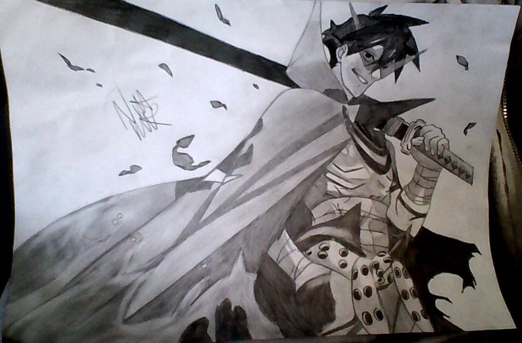 1024x674 anime drawing in pencil by ninakaurrr on deviantart