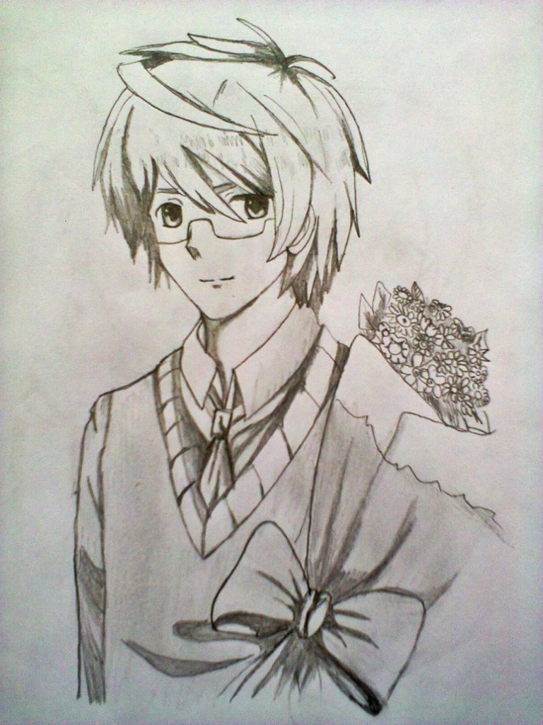 anime drawing with pencil at getdrawings com free for personal use