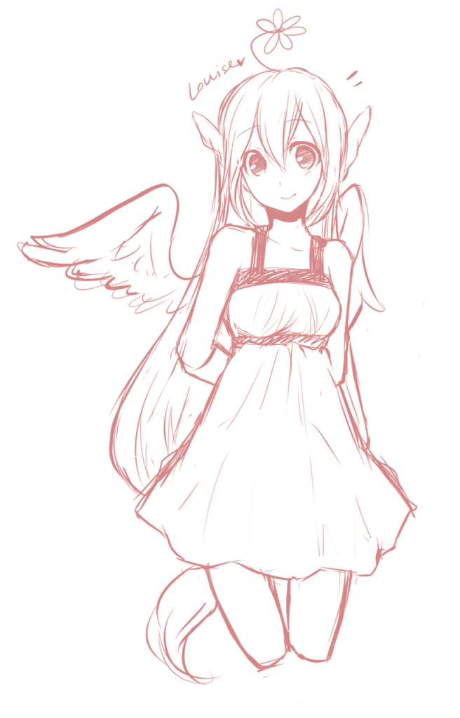 656x1024 anime dress sketch unidentified870546
