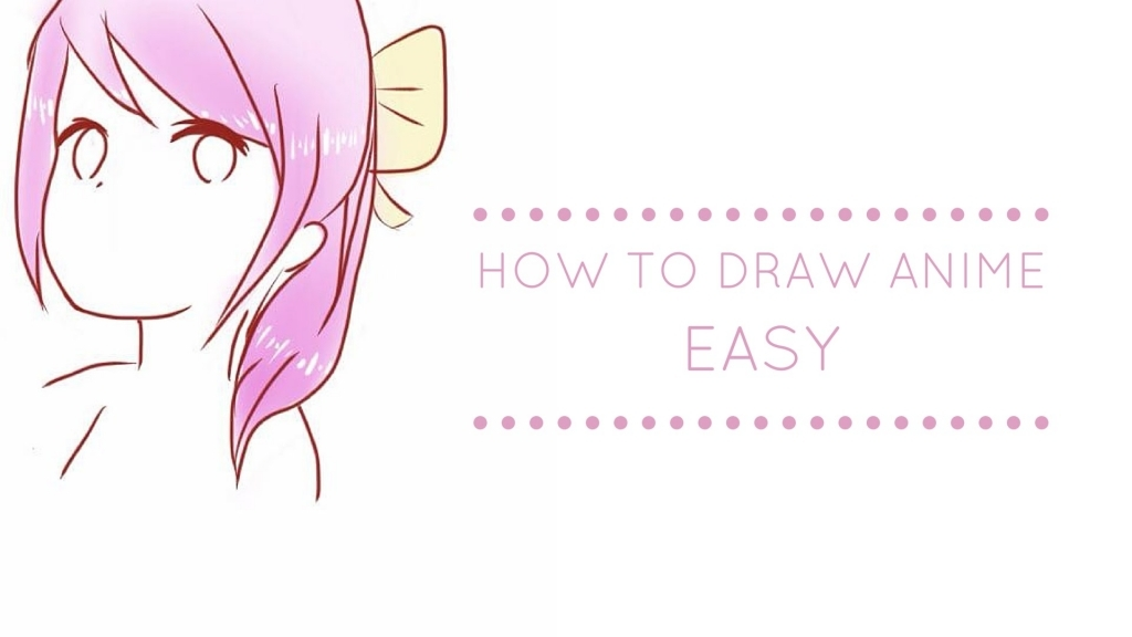 1024x576 Easy To Draw Anime How To Draw Anime Easy Youtube