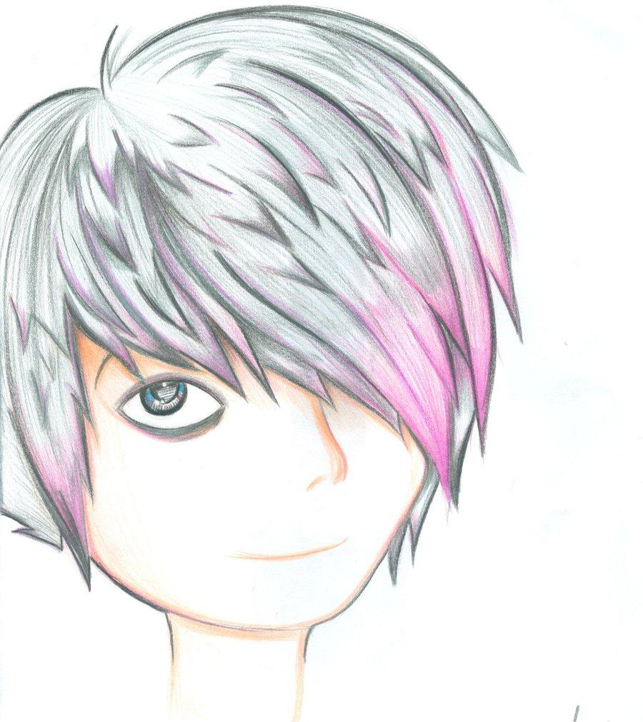 900x1011 Anime Emo Boy Drawing Emo Boysukina Chan