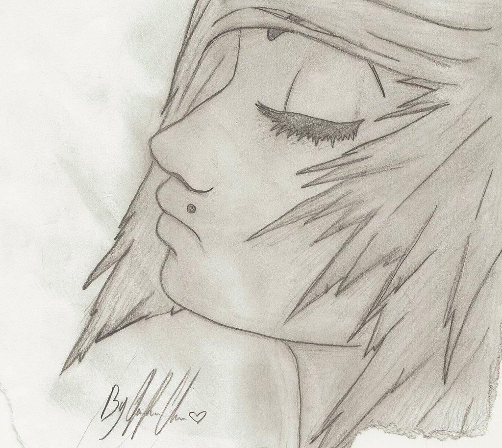 1024x913 Anime Emo Girl Crying Drawing Art Emo Girls
