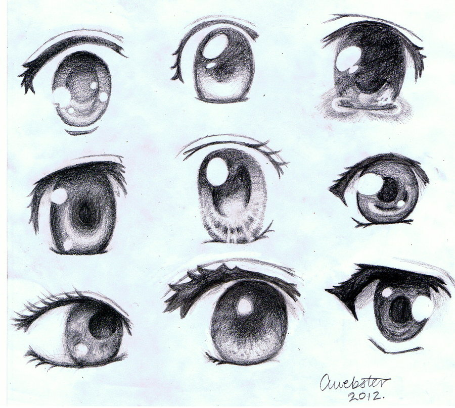 Anime Eye Drawing At Getdrawings Com Free For Personal Use Anime