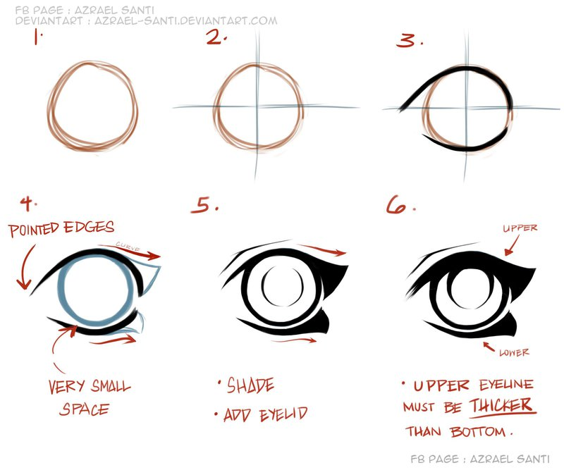 800x667 how to draw anime eyes tutorial by azrael santi on deviantart