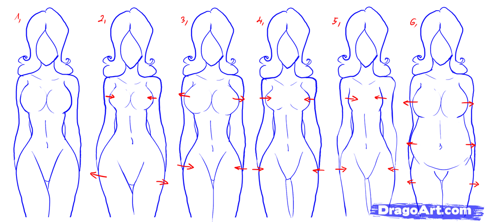 1000x458 how to draw female figures draw female bodies step by the bloody