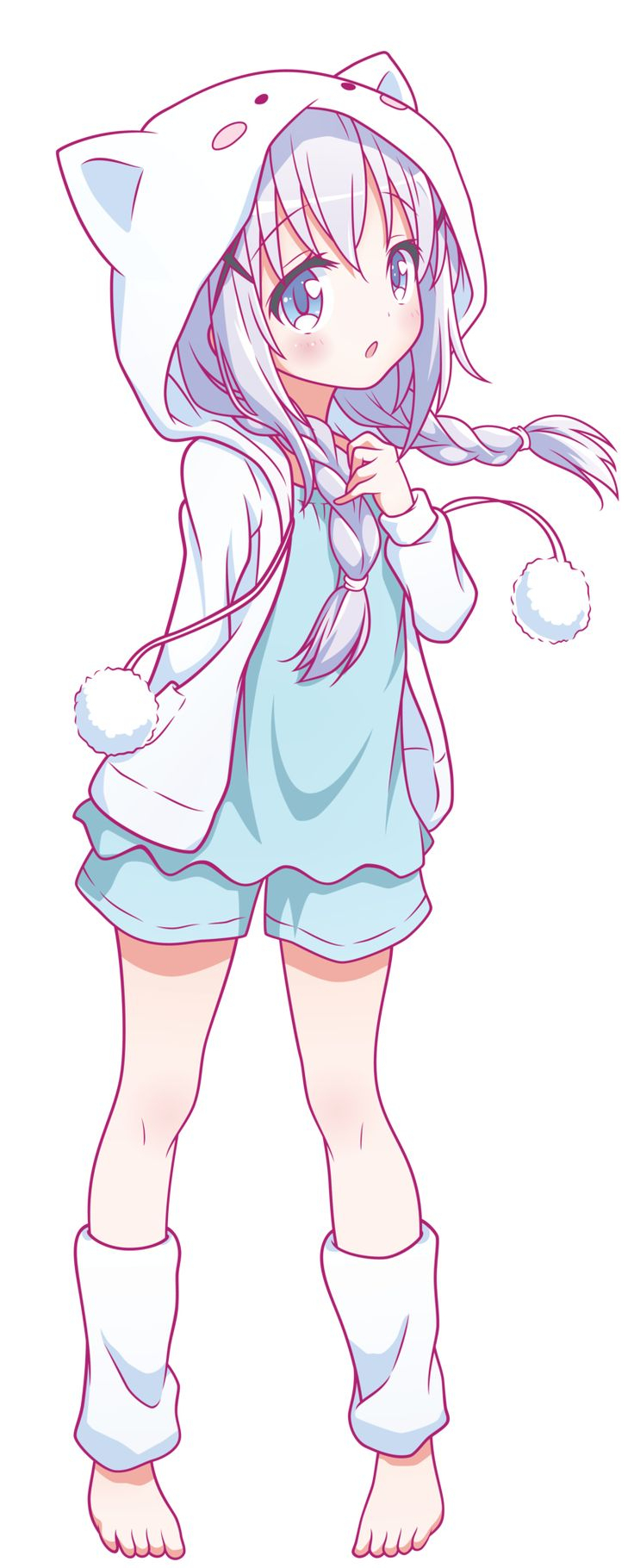 736x1820 Cute Anime Drawings Best Ideas About Anime Girl Drawings