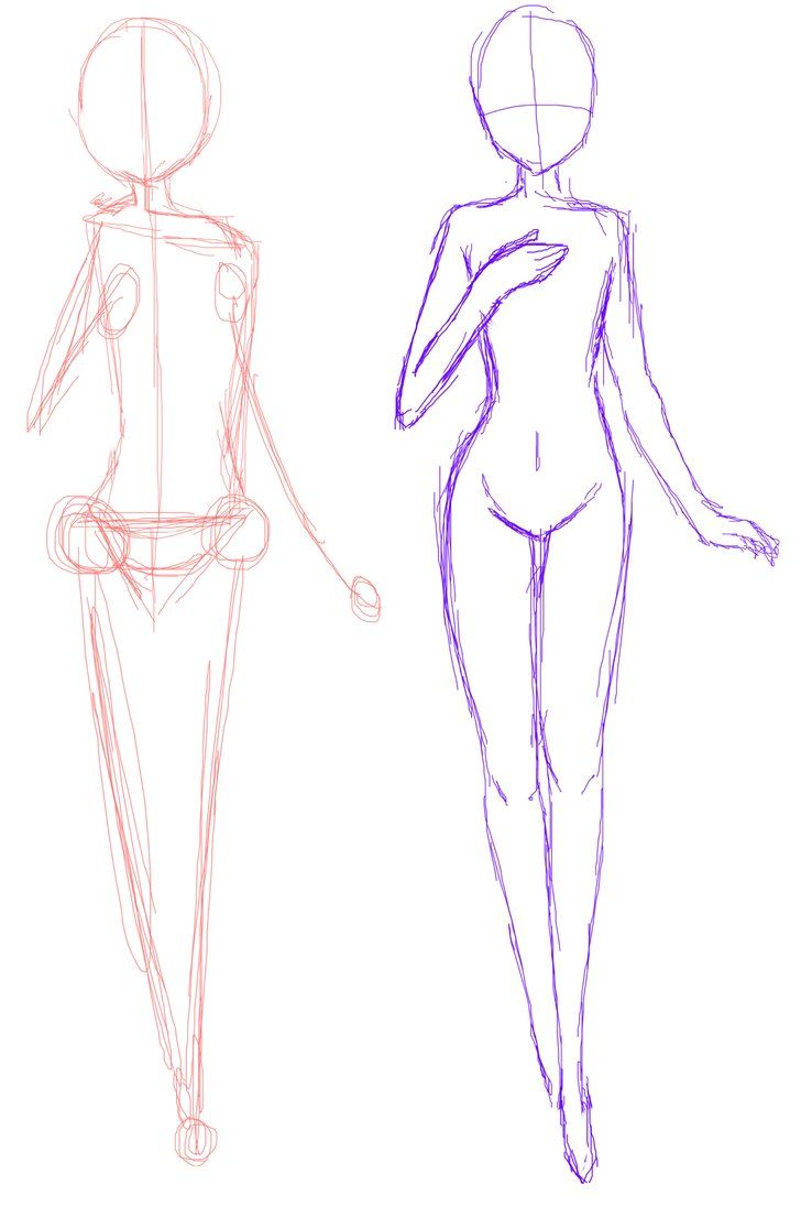 728x1096 Gallery How To Draw Anime Base,