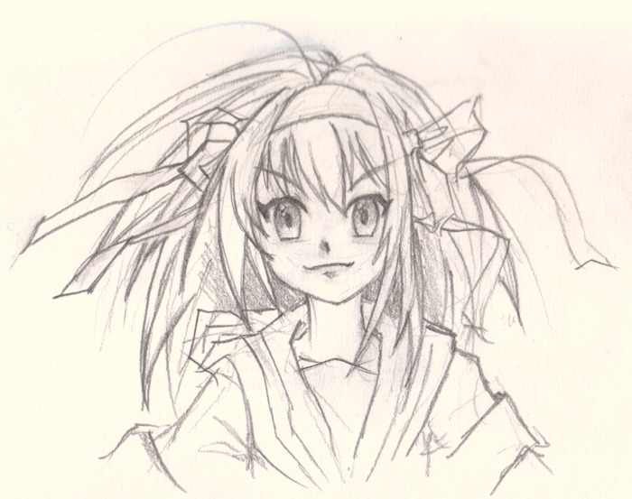700x553 How To Draw Anime Girl Face Front View Digital Painting