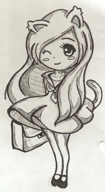 211x387 Anime Chibi Girls Easy Drawings Cheetah Girls 2 , Cheetah Girls
