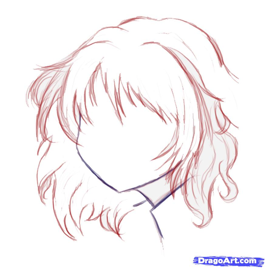 873x883 easy to draw anime girl face how to draw a cute anime face step 2