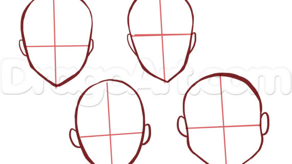 570x320 Anime Girl Face Drawing How To Draw Anime Girl Faces, Step By Step