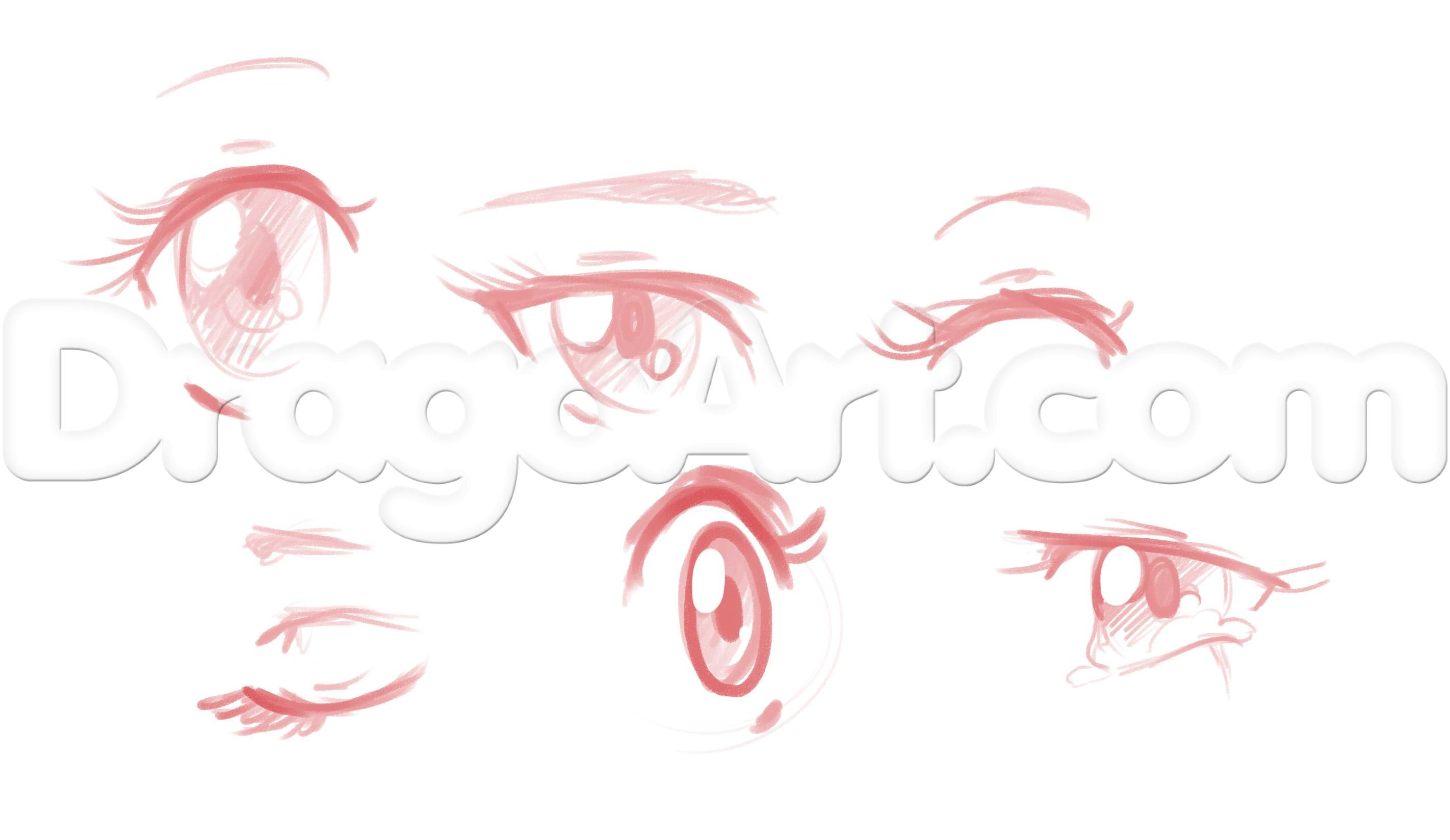 2844x1648 How To Draw Anime Girl Faces, Step By Step, Anime Heads, Anime