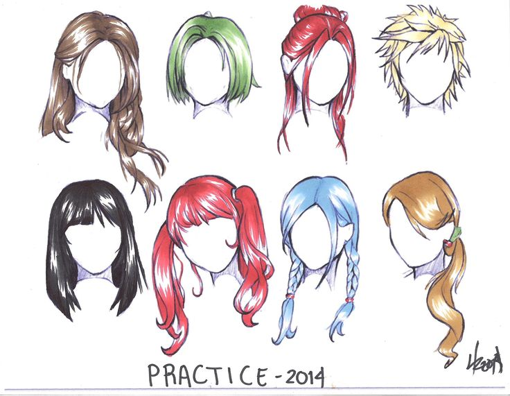 736x571 anime hairstyle best of 13 best how to draw anime girl images on