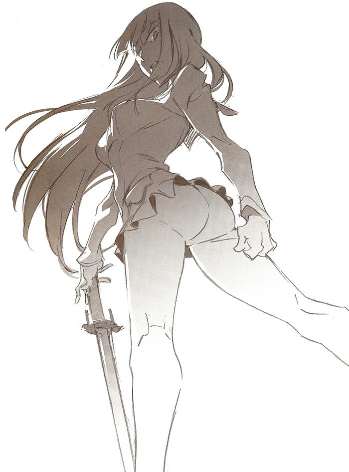 700x946 Satsuki Kiryuin From Kill La Kill (Klk, Pantsu, Legs, Sexy, Anime