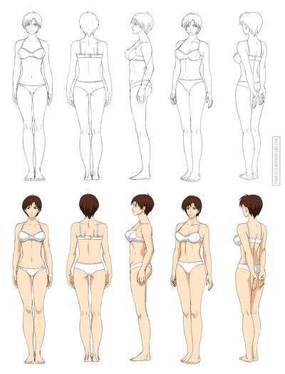 400x524 Drawing Whole Body Clipart