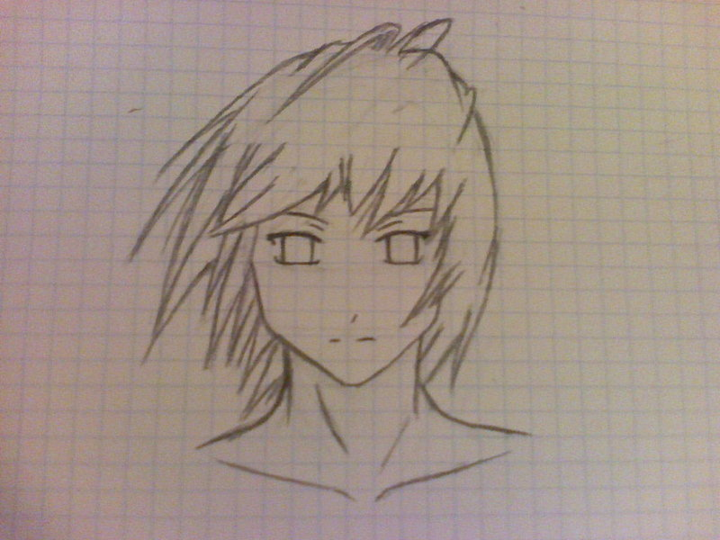 800x600 anime guy sketch by triforcechiq on deviantart