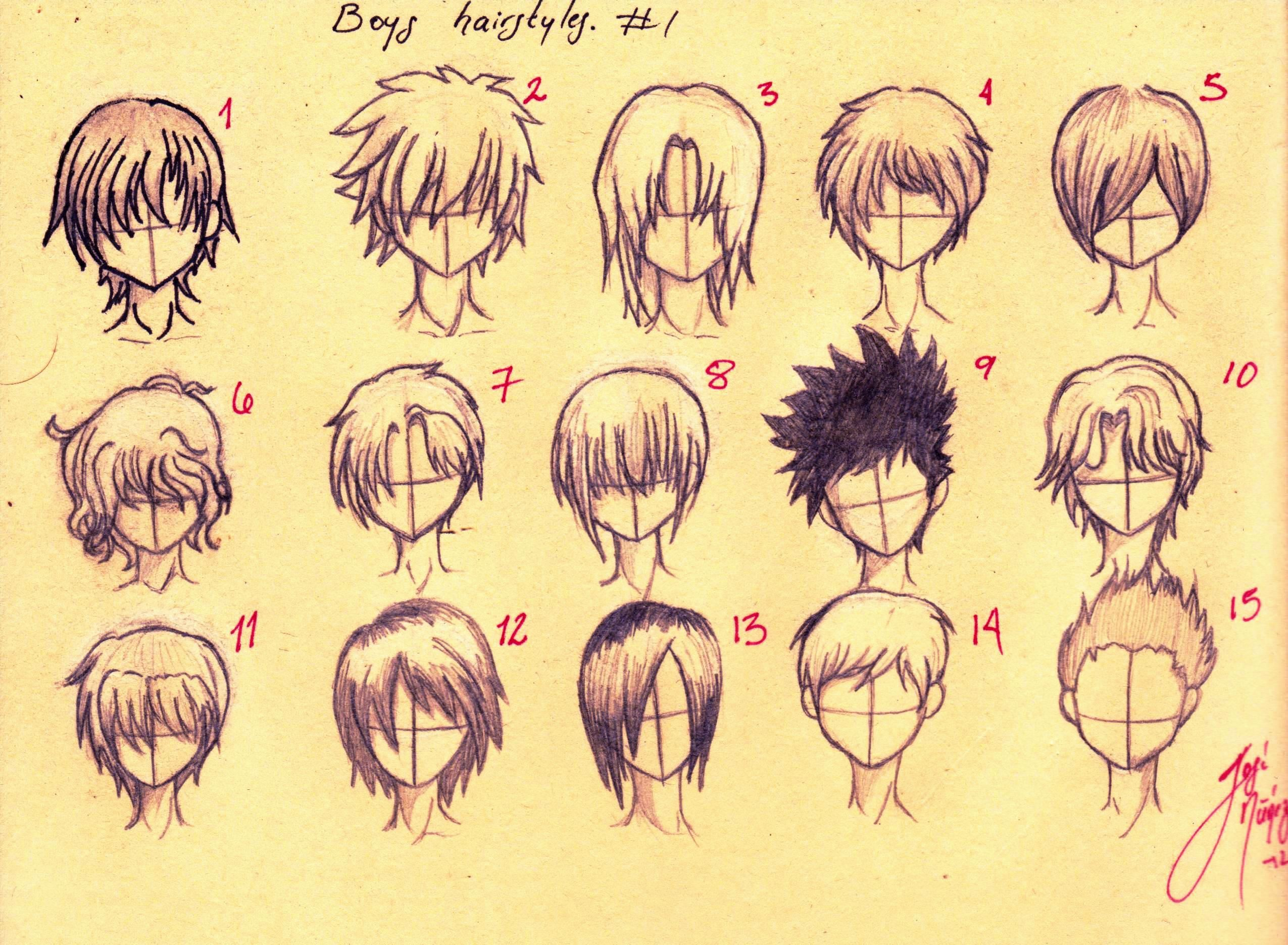 2550x1870 Anime Guy Hairstyles Drawing 31 Anime Hair Ideas, Anime Girl