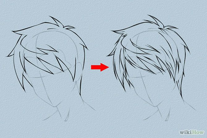 670x447 Draw Anime Hair Anime Hair, Draw Hair And Female Hairstyles