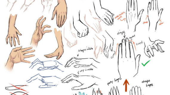 570x320 drawing anime hand drawing hands and tips by moni158 on