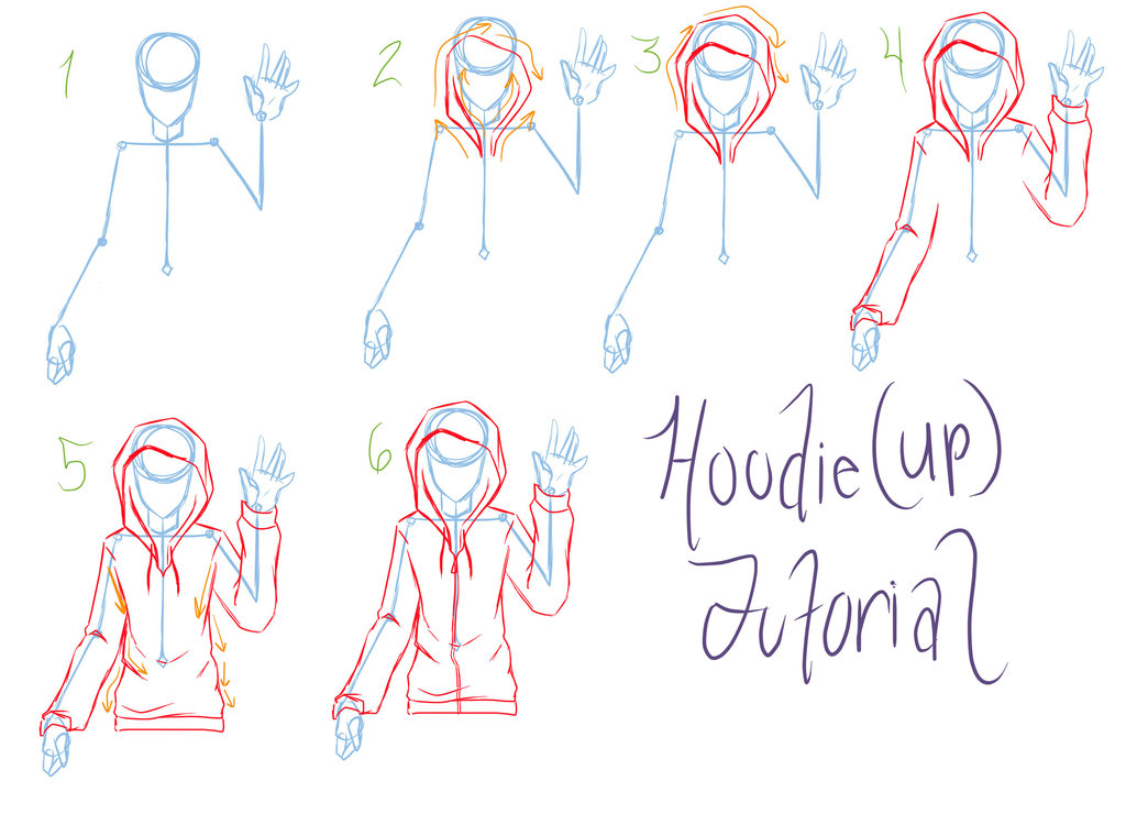 1024x740 Hoodie Tutorial Requested By Reigodric