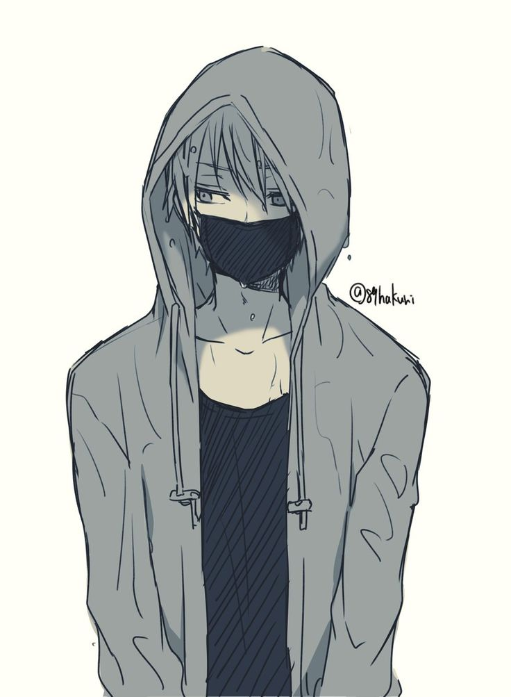 736x1003 Photos Anime Boy With Hoodie,